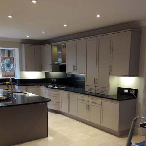 Ascot Kitchen Respray Project - After Paintwork
