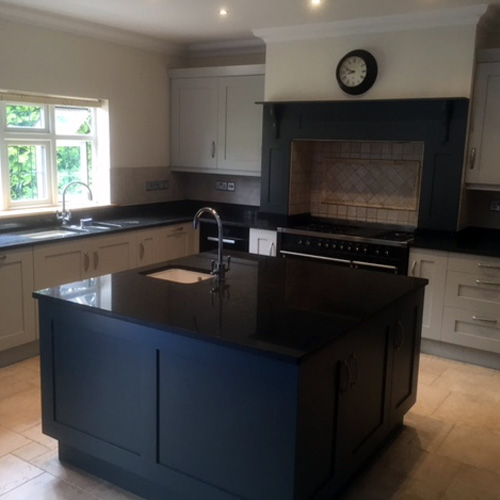 Esher Kitchen Respray Project - Call us on  07810 208 496 or 0161 371 7304