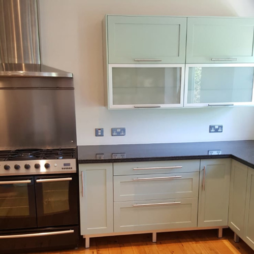 Hampton Kitchen Respray Project - After Paintwork